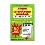 Limba si literatura romana pentru elevii de liceu, BAC.