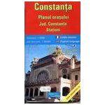 Constanta, planul orasului - Jud. Constanta, statiuni