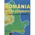 Romania - Atlas geografic, contine sinteze fizico-economice
