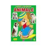 Lipeste si coloreaza animalele, catel