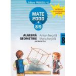 Algebra, geometrie - clasa a VIII-a, partea a II-a (semestrul 2), anul scolar 2008-2009