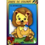 Leul - Carte de colorat cu abtibilduri