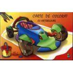 Masinuta - Carte de colorat cu abtibilduri