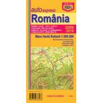 Romania. Marea Harta Rutiera