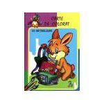 Iepurasul - Carte de colorat cu abtibilduri
