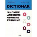 Dictionar - sinonime, antonime, omonime, paronime