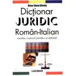 Dictionar juridic roman-italian. Cuvinte, expresii juridice si definitii