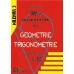 Mic memorator de geometrie si trigonometrie clasele IX-X