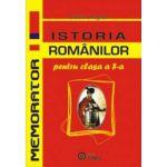 Memorator Istoria Romanilor pentru clasa a VIII-a