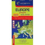 Europa - Harta rutiera Confort