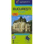 Bucuresti - Harta rutiera Confort