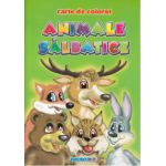Animale Salbatice ~ carte de colorat ~