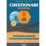 Chestionare 2020 pentru obtinerea permisului auto categoria B. Contine CD - Teodorescu, Dan