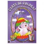 Carte de colorat - Fifi