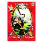 Cartea junglei - Citim si coloram