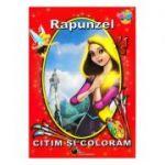 Rapunzel - Citim si coloram