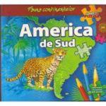Fauna continentelor - AMERICA de SUD - Carte PUZZLE