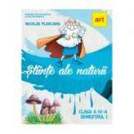 ȘTIINȚE ALE NATURII. Manual pentru clasa a IV-a. Semestrul I (cu CD) - Nicolae Ploscariu