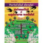 Portofoliul elevului. Matematică și explorarea mediului. Clasa I. Semestrul I. P1M1