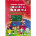 Culegere de matematica cls a III-a