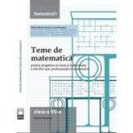 Teme de matematica. Clasa a VII-a (semestrul I) - Petrus Alexandrescu