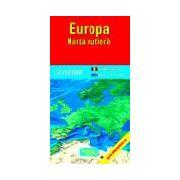 Harta rutiera a Europei (scara 1:4.750.000)