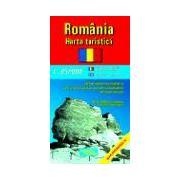 Romania turistica (scara: 1:850.000)