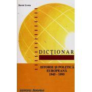 Dicţionar de istorie şi politică europeană 1945-1995