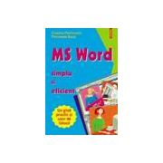 MS WORD - simplu si eficient
