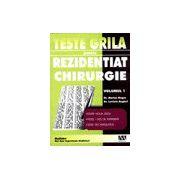 Teste grila pentru Rezidentiat - Chirurgie Vol. 1