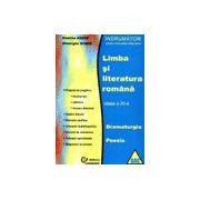 Indrumator pentru manualele alternative - Limba si literatura romana - Clasa a XI-a