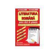 Literatura romana pentru elevii de gimnaziu - Clasele V-VIII