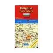 Bulgaria - harta turistica