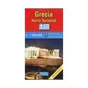 Grecia - harta turistica