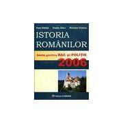 Istoria romanilor - teste pentru bac si politie 2006