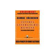 Istoria Literaturii Romane – prima editie in format electronic – CD
