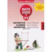 Aritmetica, algebra, geometrie - clasa a V-a, partea a II-a (semestrul 2), anul scolar 2008-2009