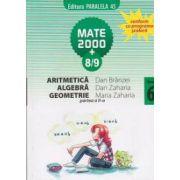 Aritmetica, algebra, geometrie - clasa a VI-a, partea a II-a (semestrul 2), anul scolar 2008-2009