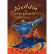 Aladin si Lampa Fermecata - Carte de colorat