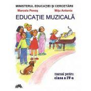 Educatie muzicala, manual pentru clasa a IV-a