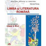 Limba si literatura romana - manual pentru clasa a III -a