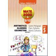 Mate 2000+9/10 - Aritmetica, algebra, geometrie. Clasa a 5-a, partea I