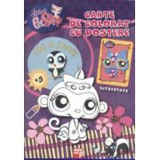 Littlest pet shop. Carte de colorat cu postere