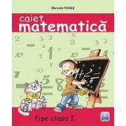 Caiet de matematica. Fise clasa I