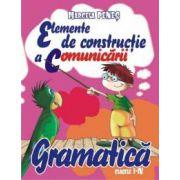Gramatica,elemente de constructie a comunicarii