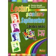 Lecturi scolare suplimentare - Literatura romana clasele I-IV