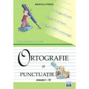 Limba si literatura romana - Ortografie si punctuatie I-IV