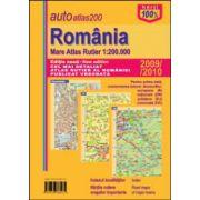 Romania. Mare Atlas Rutier