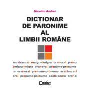 Dictionar de paronime al limbii romane