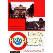 Limba franceza pentru clasa a VII-a (limba moderna 2)